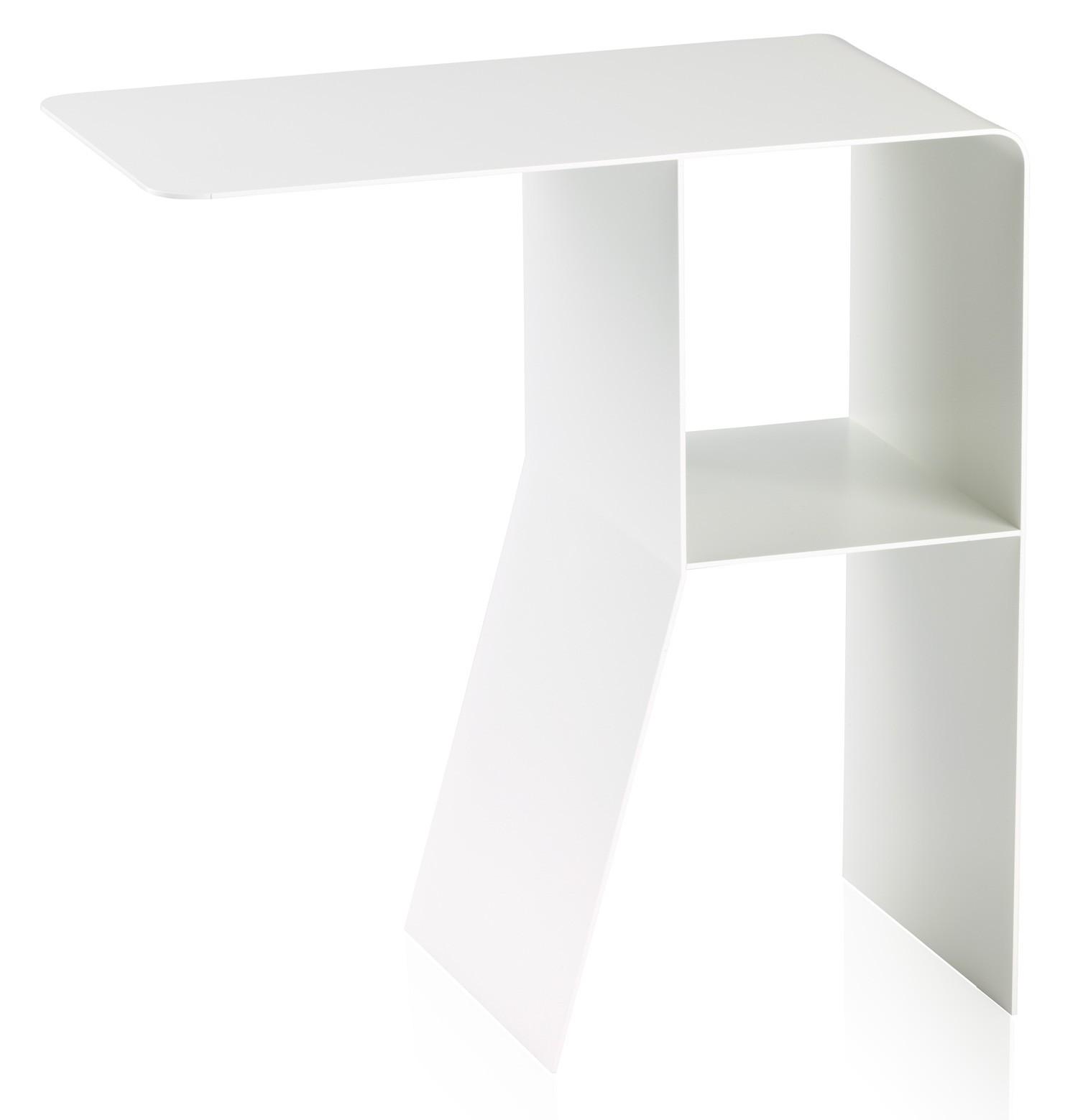 beistelltisch pieperconcept athos wei. Black Bedroom Furniture Sets. Home Design Ideas