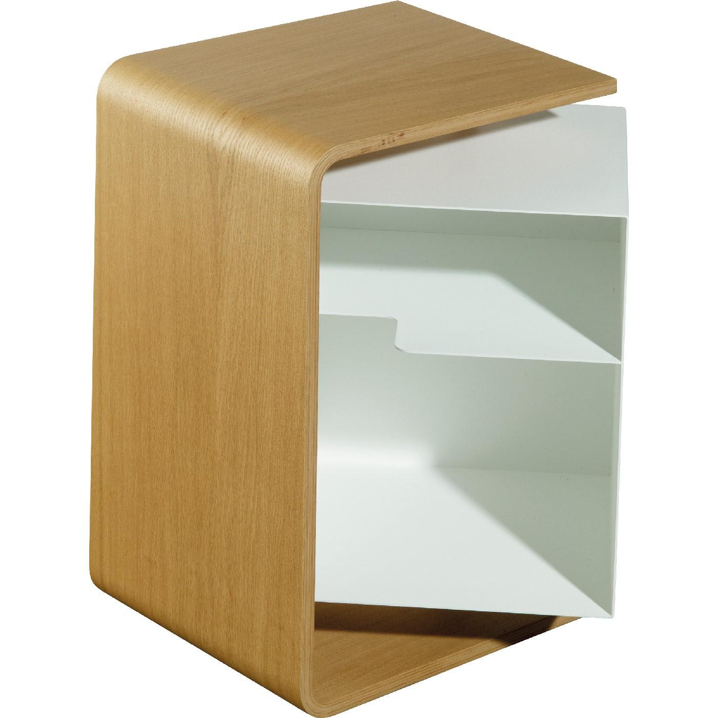 beistelltisch pieperconcept caru eiche. Black Bedroom Furniture Sets. Home Design Ideas