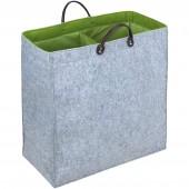 Wäschesammler Wenko Duo Filz grün