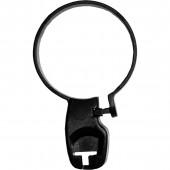 Kleiderbügel Diebstahlsicherung Kunststoffring 35 mm schwarz