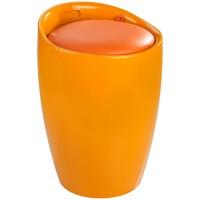 Wäschesammler & Hocker Wenko Candy orange