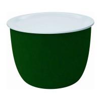 Beistelltisch pieperconcept RONDA grün weiss