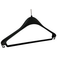Kleiderbügel F 44 DB schwarz
