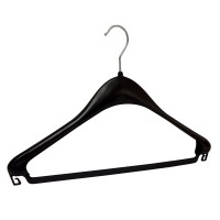 Kleiderbügel F 44 schwarz