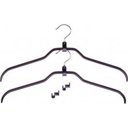 Kleiderbügel MAWA adda Set - schwarz