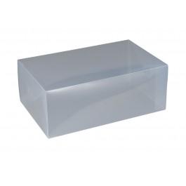 Wenko Aufbewahrungsbox L transparent 2er Set