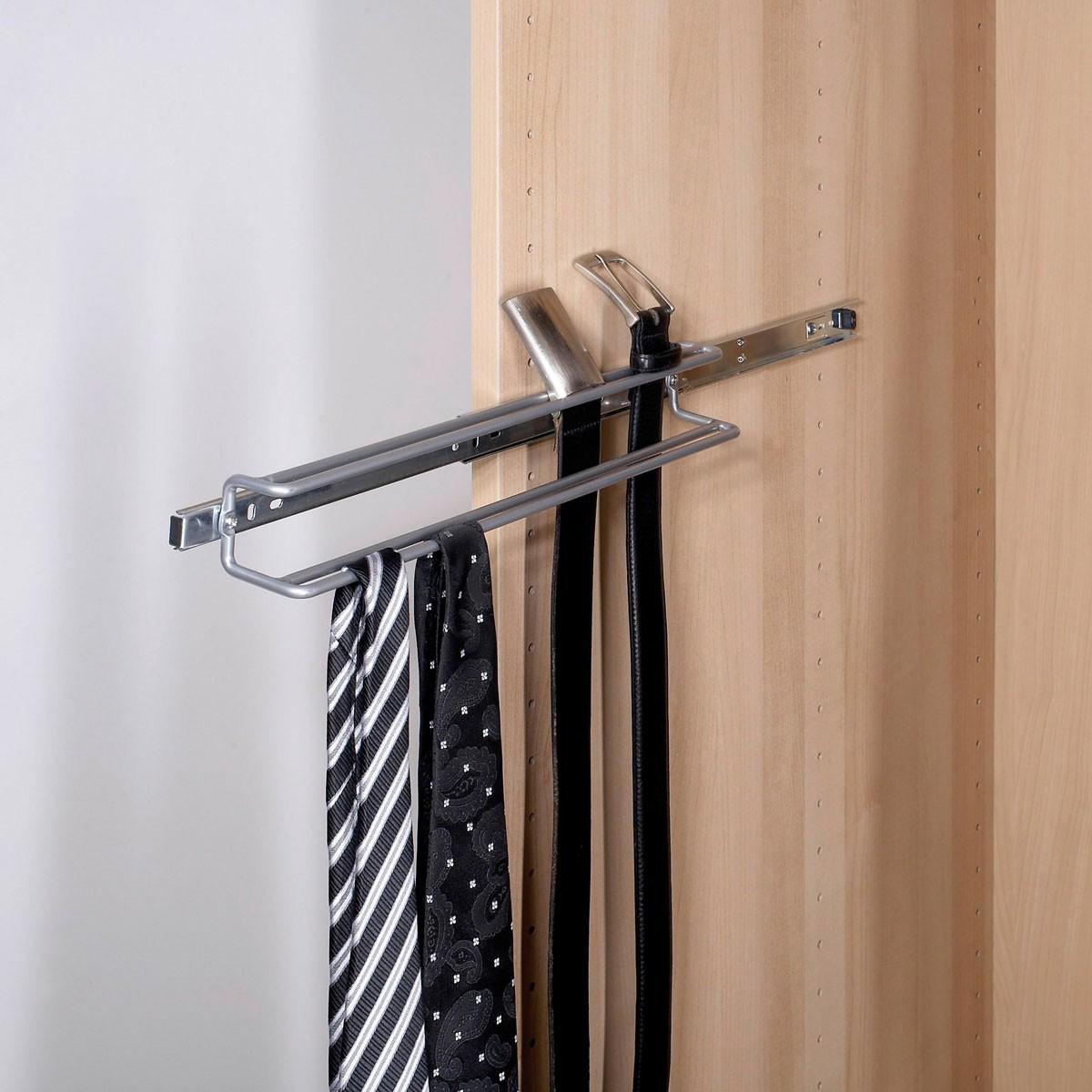 schrankauszug g rtel und krawattenhalter. Black Bedroom Furniture Sets. Home Design Ideas