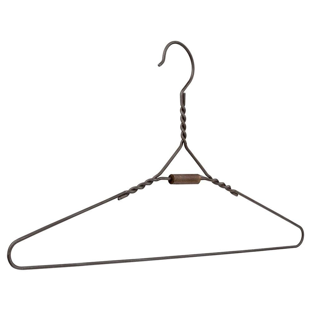 Drahtkleiderbügel Old Vintage braun