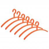 Garderobenbügel Elegance orange 6er Set