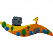 Kindergarderobe bieco Neue Welle Elefant