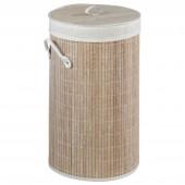Wäschesammler Wenko Bamboo beige