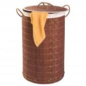 Wäschesammler Wenko Bamboo braun