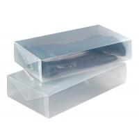 Wenko Aufbewahrungsbox transparent 2er Set