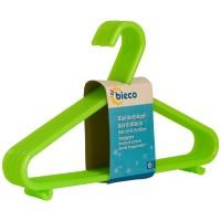 Kinderkleiderbügel bieco 8er Set grün