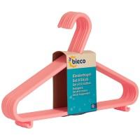 Kinderkleiderbügel bieco 8er Set rosa
