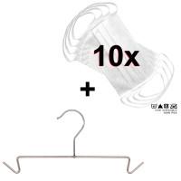 10er Set Mund- und Nasenmaske mit Bügel MH 007