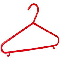 Kinderkleiderbügel Malte rot