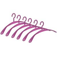 Kleiderbügel WING violett 6er Set