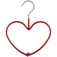 Accessoires Kleiderbügel Herz rot