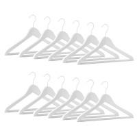 12er Kleiderbügel Set ECO Business RFS weiss w