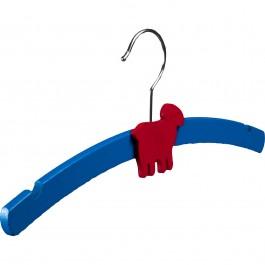 Kinderkleiderbügel Weber 1508 blau mit Tiermotiv