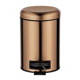 Kosmetik Treteimer Leman Metallic Kupfer