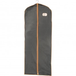 Wenko Kleidersack grau orange - 60 cm x 150 cm