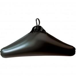 Wenko Kleiderbügel Deep Black aufblasbar