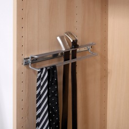 Schrankauszug Gürtel- und Krawattenhalter