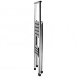 Alu-Design Klapptrittleiter 2-stufig