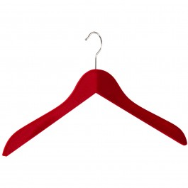 Kleiderbügel pieperconcept 200 beflockt rot
