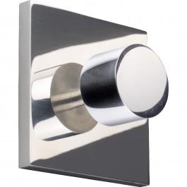 Wandhaken pieperconcept hook Aluminium poliert
