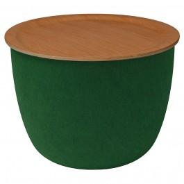 Beistelltisch pieperconcept RONDA grün eiche