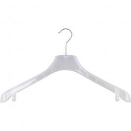 Kleiderbügel F 1 transparent
