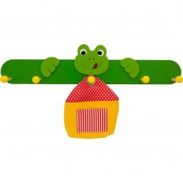 Kindergarderobe bieco Maus mit Frosch