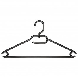 Kleiderbügel L1036 schwarz