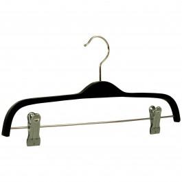 Kleiderbügel 5501k Schichtholz schwarz