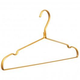 Kleiderbügel Punto Aluminium gelbgold
