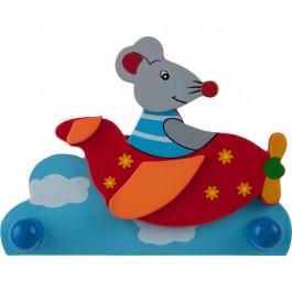 Kindergarderobe bieco Maus