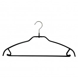 Kleiderbügel Silhouette light 42 FTU MAWA schwarz