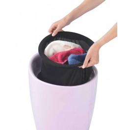 Wäschesammler Wenko Candy rosa