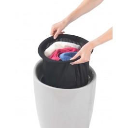 Wäschesammler Wenko Candy taupe