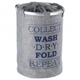 Wäschesammler Wenko Ringo grau
