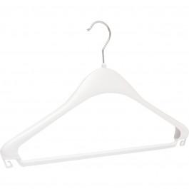 Kleiderbügel F 44 weiß