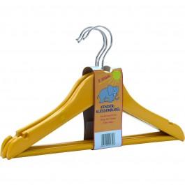Kinderkleiderbügel Weber C 157 gelb